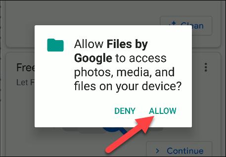archivos por permisos de google