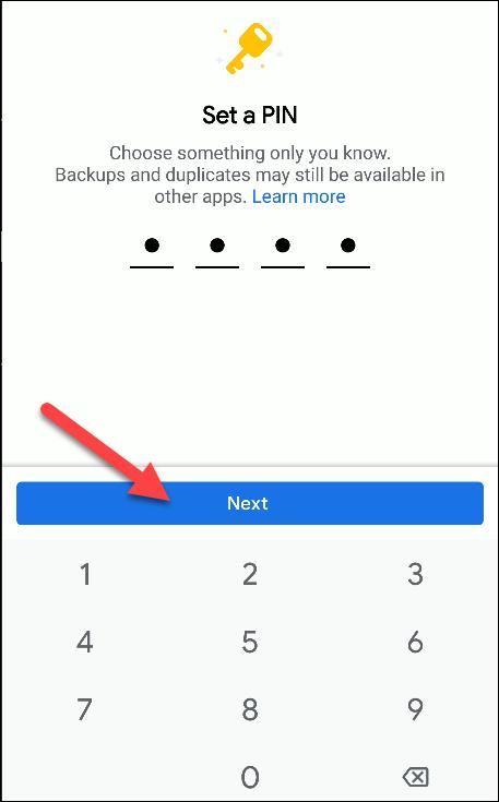 archivos por google set pin