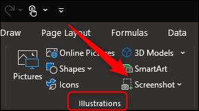 Captura de pantalla en Word, Excel