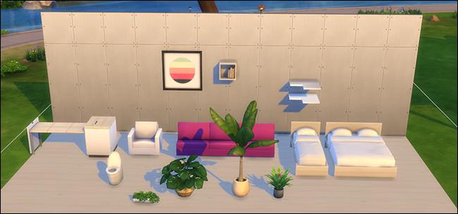 Ubicación de contenido personalizado de Los Sims 4