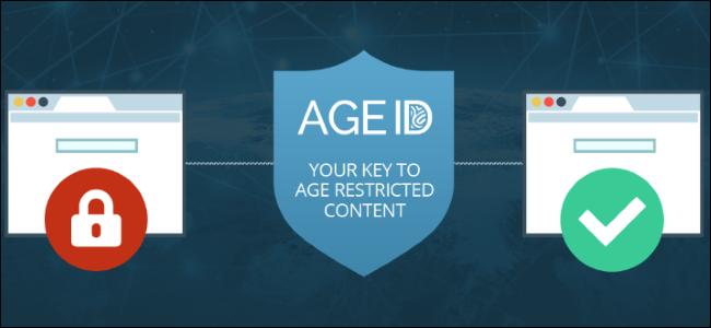 Logotipo de identificación de edad