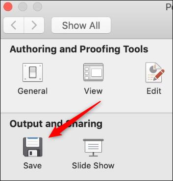 salida y compartir mac