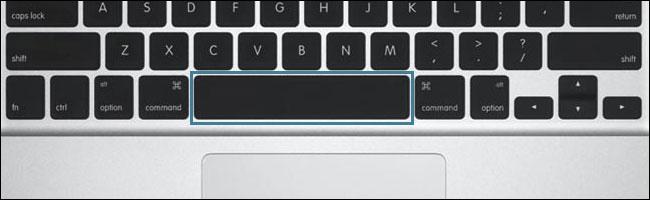 barra espaciadora-resaltada-captura de pantalla