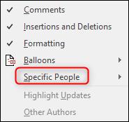 Gente especifica