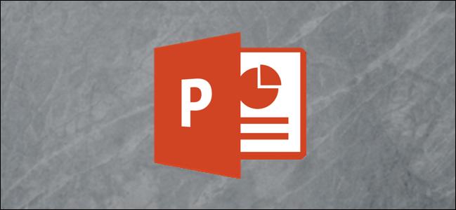 El logo de PowerPoint.