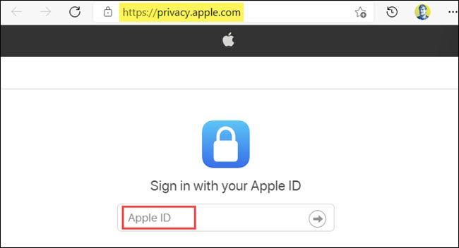 inicia sesión con tu ID de Apple