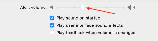 Cambiar el sonido de alerta en Mac