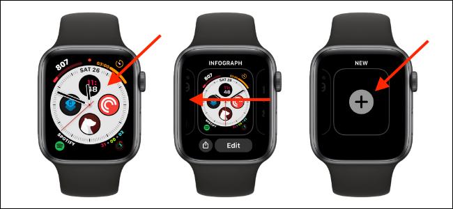 Cómo agregar una nueva esfera de reloj a Apple Watch
