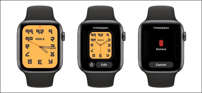 Cómo eliminar una esfera de reloj en Apple Watch
