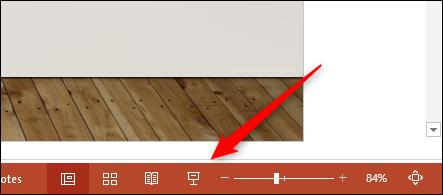 Icono de vista de presentación