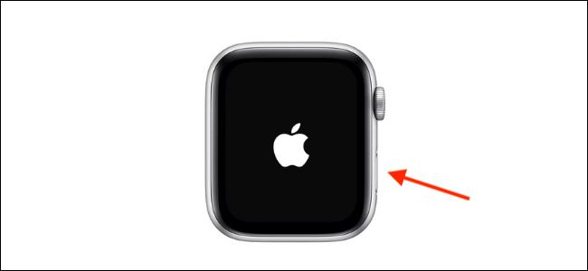 Encienda el Apple Watch con el botón lateral