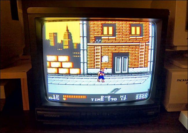 Double Dragon en la NES