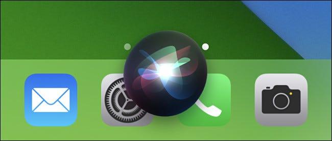 Cuando vea la burbuja de Siri, diga el nombre del acceso directo para iniciarlo.