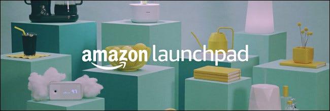 El logotipo de Amazon Launchpad