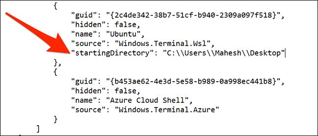 Cambiar el directorio predeterminado de Ubuntu