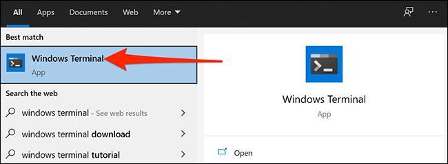 Abrir terminal de Windows
