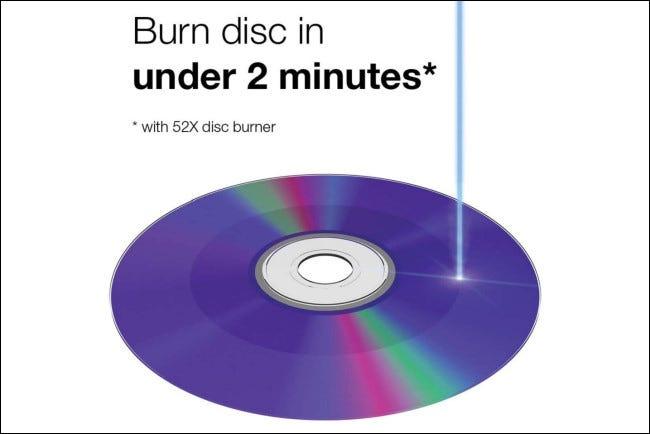 Grabación de un CD-R de Verbatim